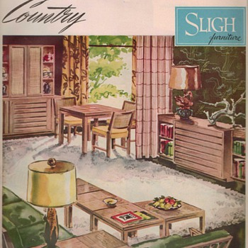 1950 Sligh Furniture Advertisement - Advertising