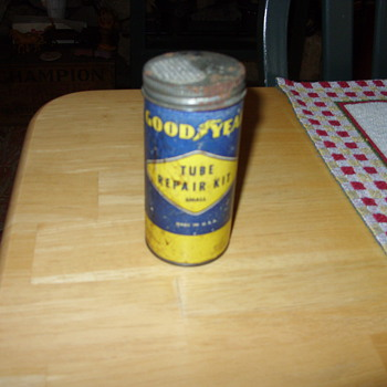goodyear tube repair kit - Advertising