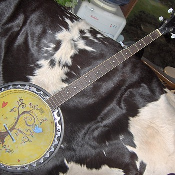 HANDPAINTED BANJO - Musical Instruments