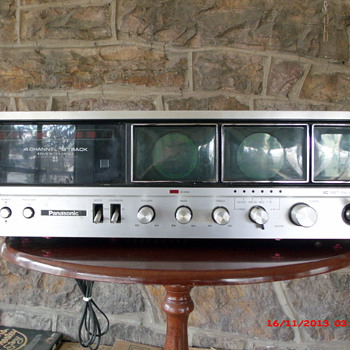 Panasonic Quadraphonic 8-Track player