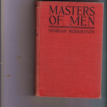 Masters of Men, Morgan Robertson - Books