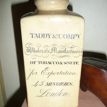 My Taddy & Compy Snuff Jar