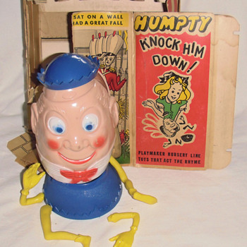 Like the first of action figure is this Humpty Dumpty? - Toys