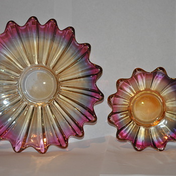 Vintage plates - Glassware