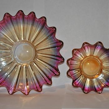Vintage plates - Glassware