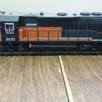 "Soo""Bandit"" GP40 - Model Trains"