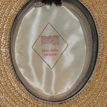 """Vintage Ponte Rialto """"boater"""" - Hats"""