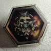 Tortoise Shell Hexagonal Pique Brooch