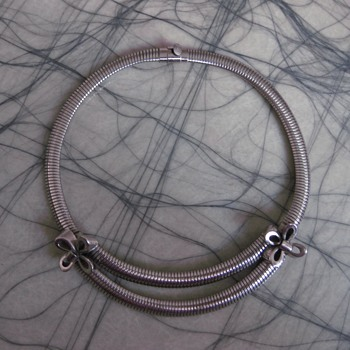 Ernest Steiner original - late 1940's or 50's silver choker
