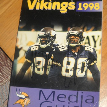 1998 Minnesota Vikings Media Guide