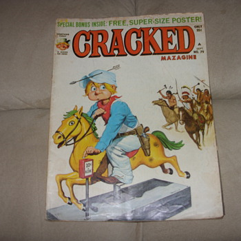 1969 no. 79 cracked magazine