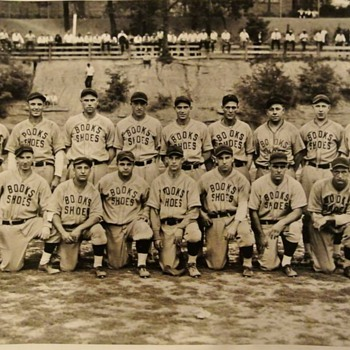 Baseball Team from Sharon Pa. 1920's - Baseball