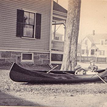 Our Neighbors kids  tea party 1905 - Photographs