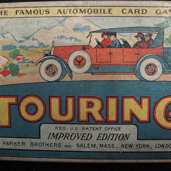 &quot;Touring&quot; Card Game - Cards