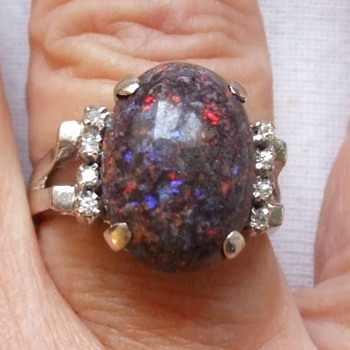 "Would This be Considered a ""BLACK"" Opal or Something Else? - Fine Jewelry"