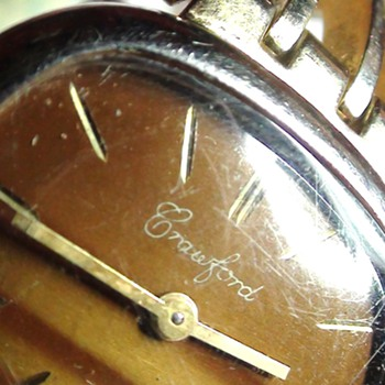CRAWFORD WATCH Ladies Swiss..   Mistery Watch  No info I have ..How about You?