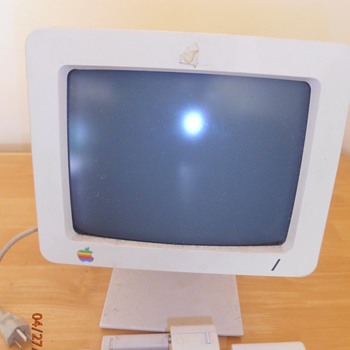 Vintage Apple II Personal Computer - Office