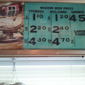 Beer Sign - Signs