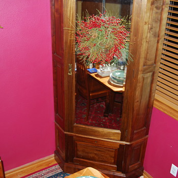 Victorian Corner Wardrobe - Furniture