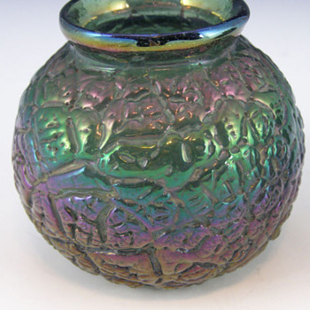 Miniature Thomas Webb Bronze Vase - Art Glass