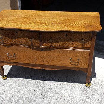 Lantz brothers.   Antique dresser
