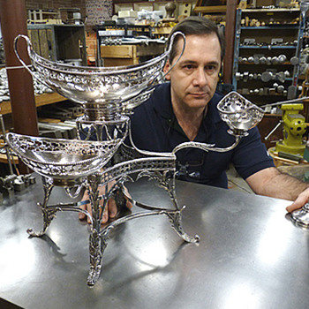 Repair of a Sterling Epergne - Sterling Silver