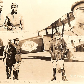 1924 Around The World Flight Photo - Photographs