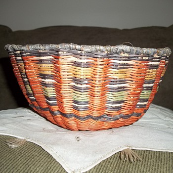 Hopi Wicker Basket  - Native American