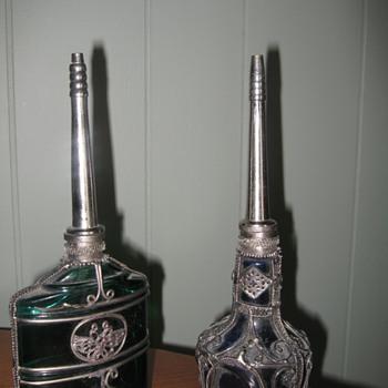 Mystery bottles...