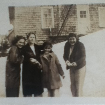 Early 1940s Family Photograph