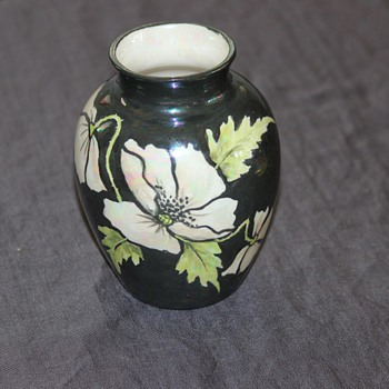 Floral vase unknown maker