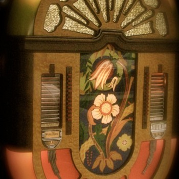 Wurlitzer 580 wall selector and speaker 1942