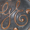 Vintage General Electric Heavy Brass Plaque