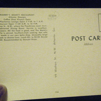 the other side of post card