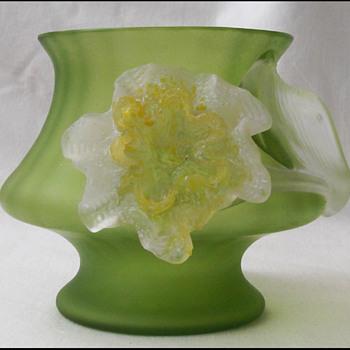 Kralik Flower  vase  - Art Glass