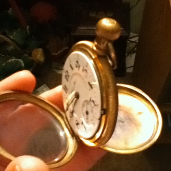 "vintage ""hamilon"" pocket watch"