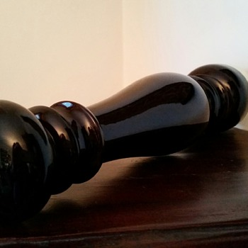 "14"" Corona Beechwood Pepper Mill w/19 layers of gloss --Found @ Local GW :)"