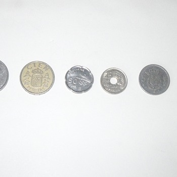 Spanish Coins