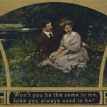 Romantic postcards for Valentine's Day