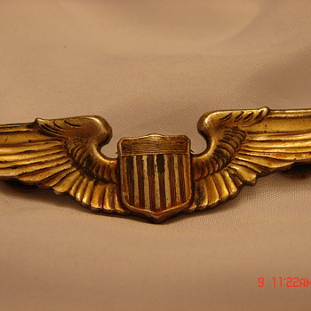 WW2 Pilots Insignia - Military and Wartime