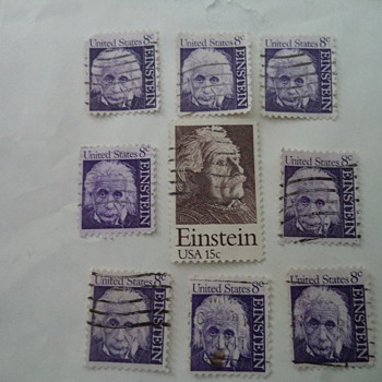 Albert Einstein / USA Stamps