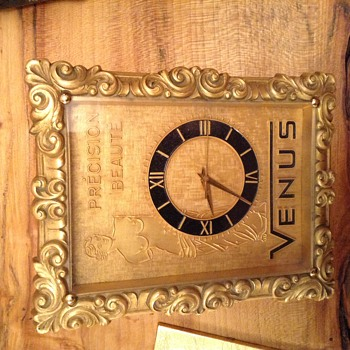 Mystery Venus advertising clock?