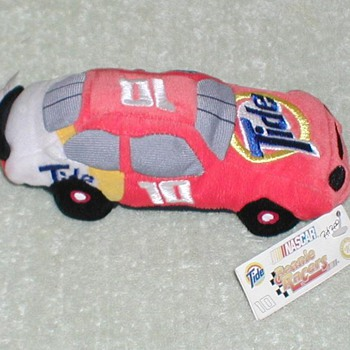 "1998 - NASCAR Ricky Rudd ""Tide"" Race Car Plush Toy"