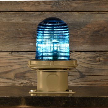 Appleton Electric Blue marker light