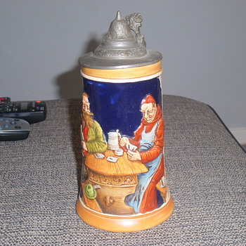 REINHOLD MERKELBACH BEER STEINS - Breweriana