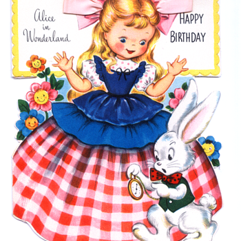 Alice in Wonderland | Fairfield Birthday Story Card  - Cards
