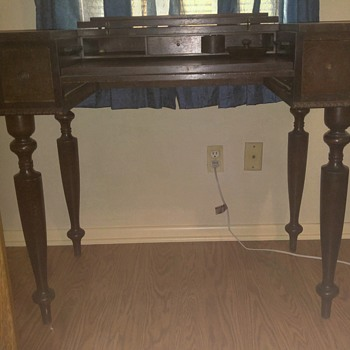 Desk from 1838? - Furniture