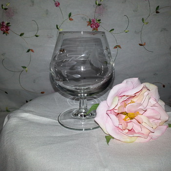 Princess House Crystal Brandy Snifter