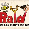 RAID &quot;Kills Bugs Dead&quot; 2-deck playing cards - box art