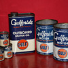 Gulf oil can collection
